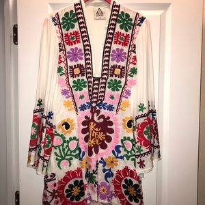 Unif embroidered flower RARE dress